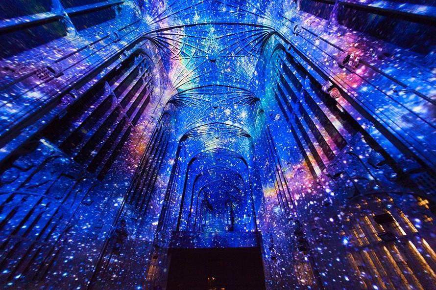 Miguel Chevalier, arte virtual en Cambridge.