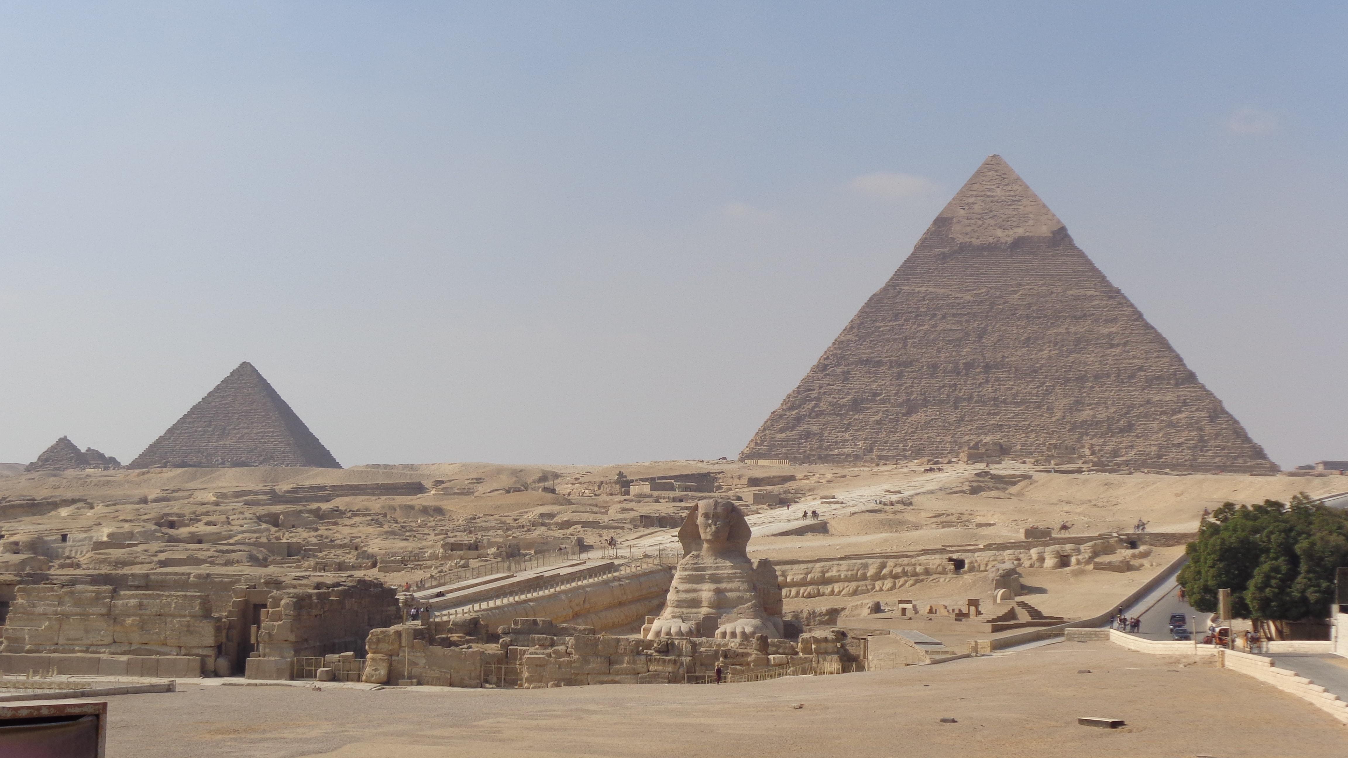 Pirámides de Gizeh.