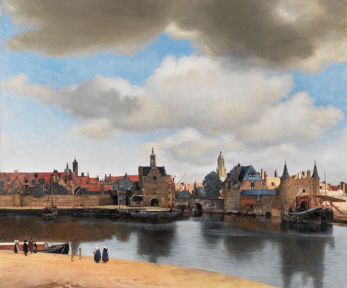 Vista de Delft, de Johannes Vermeer.