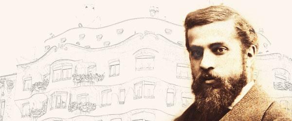 Arquitecto Antoni Gaudí i Cornet.