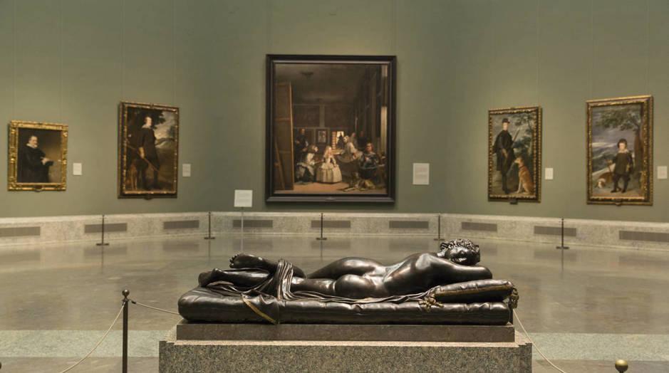 Hermafrodito Matteo Bonuccelli Bronce, alto: 61 cm.; ancho: 160 cm.; fondo: 60 cm 1652