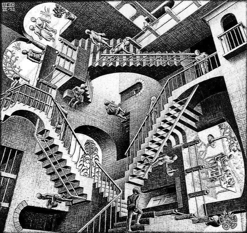 Casa de Escaleras - Exposición Escher Madrid