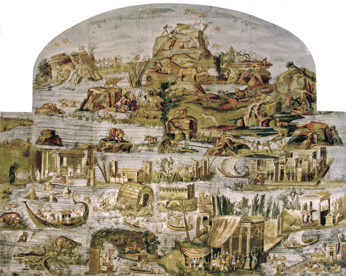 Mosaico del Nilo de Palestrina