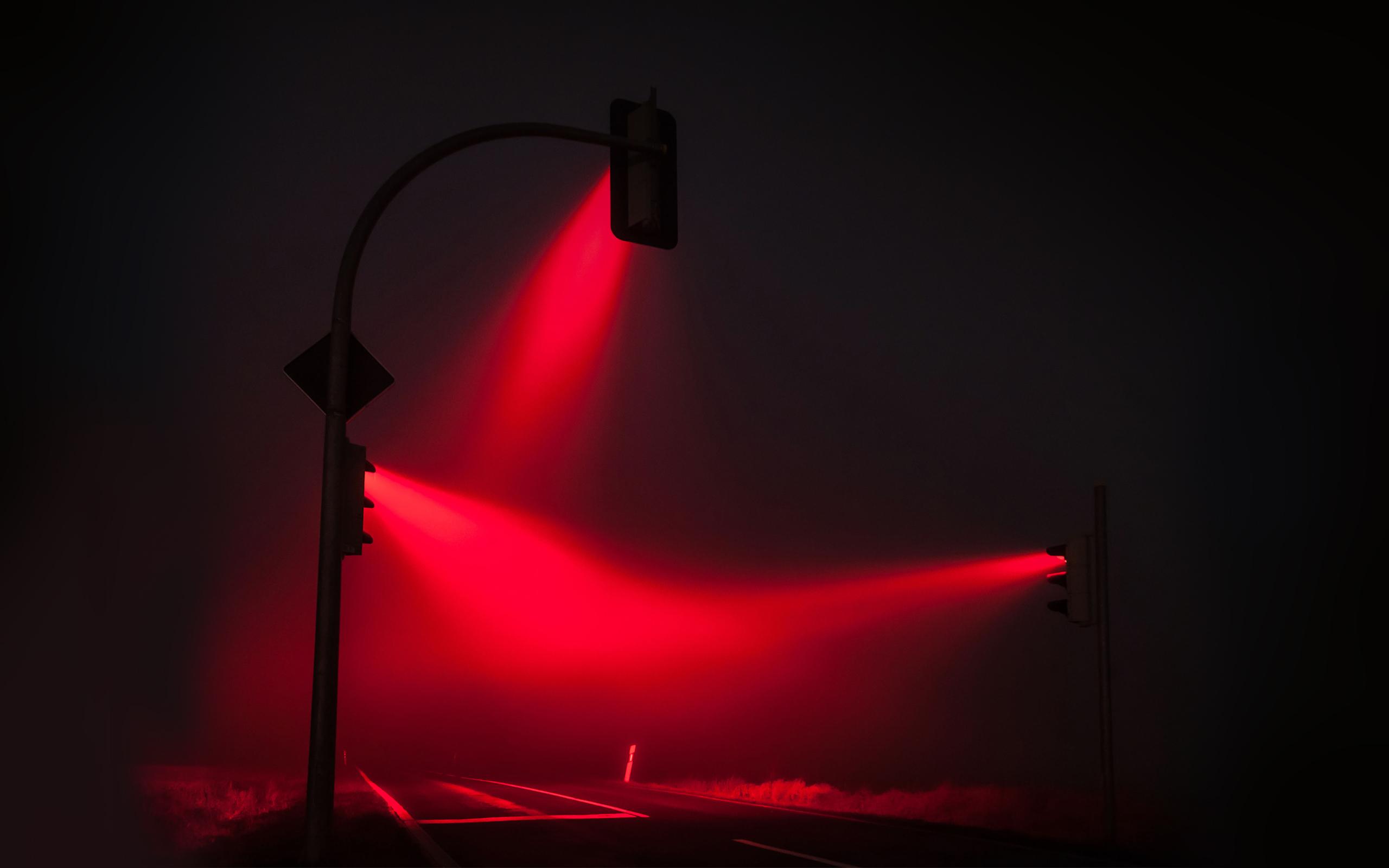 Luz roja, Traffic Lights, de Lucas Zimmerman.