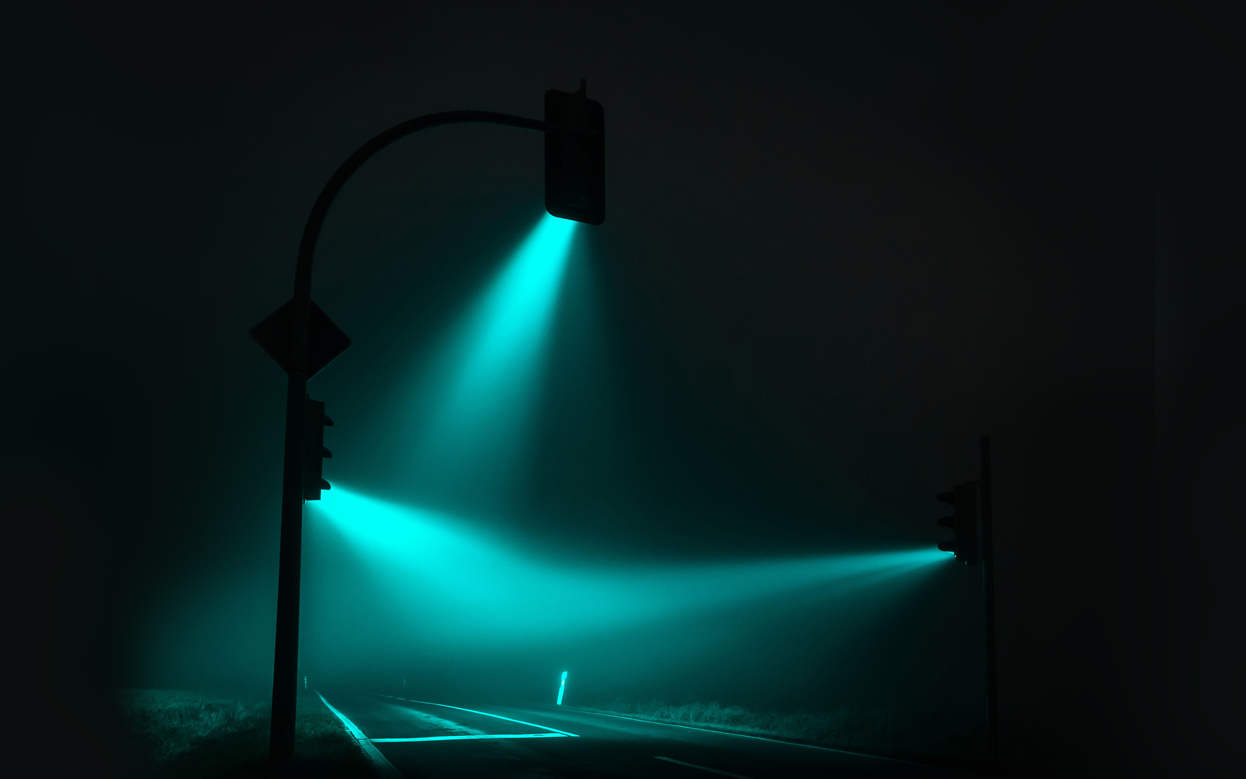 Luz azul, Traffic Lights, de Lucas Zimmerman.
