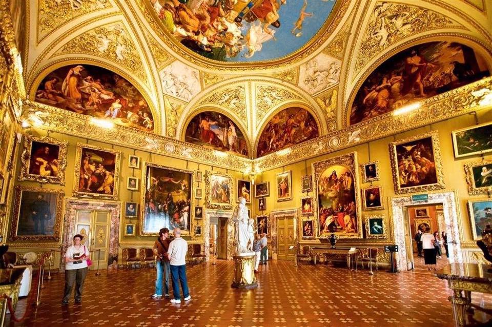 Palacio Pitti, Florencia.