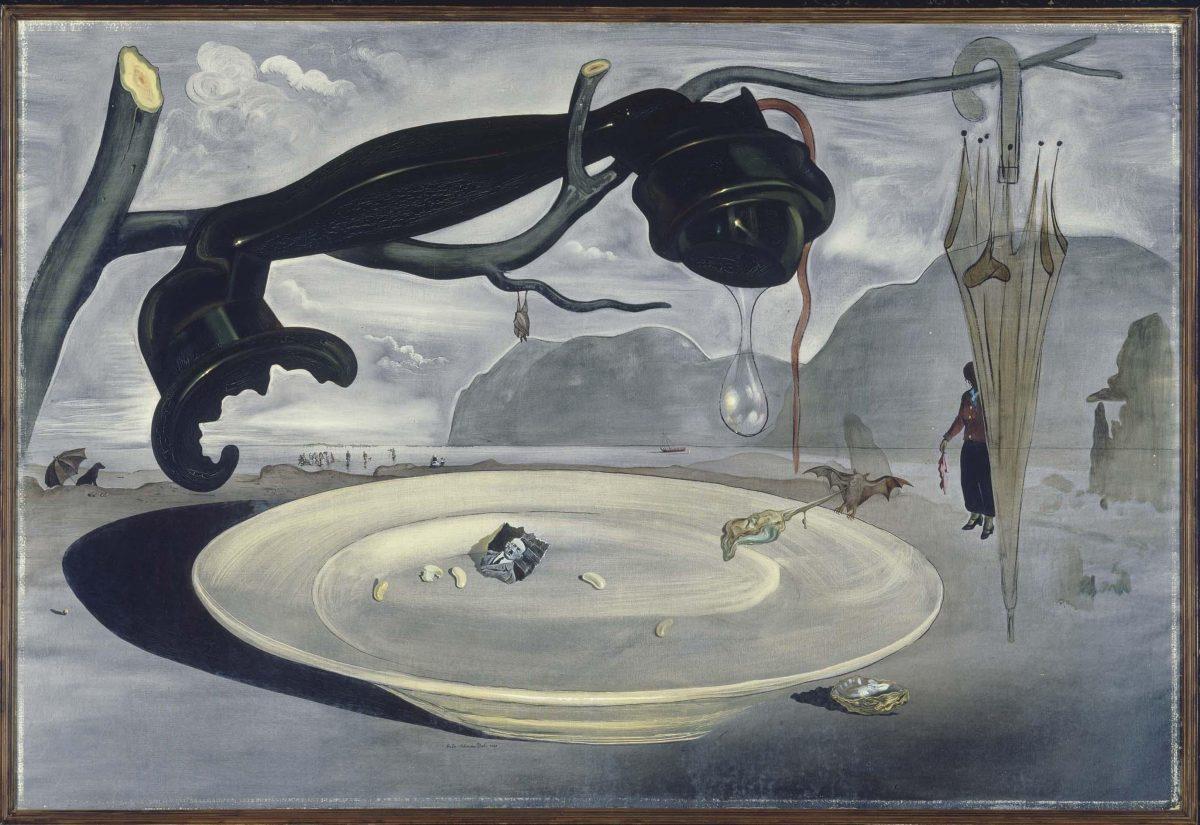 El enigma de Hitler, Salvador Dalí, 1939.