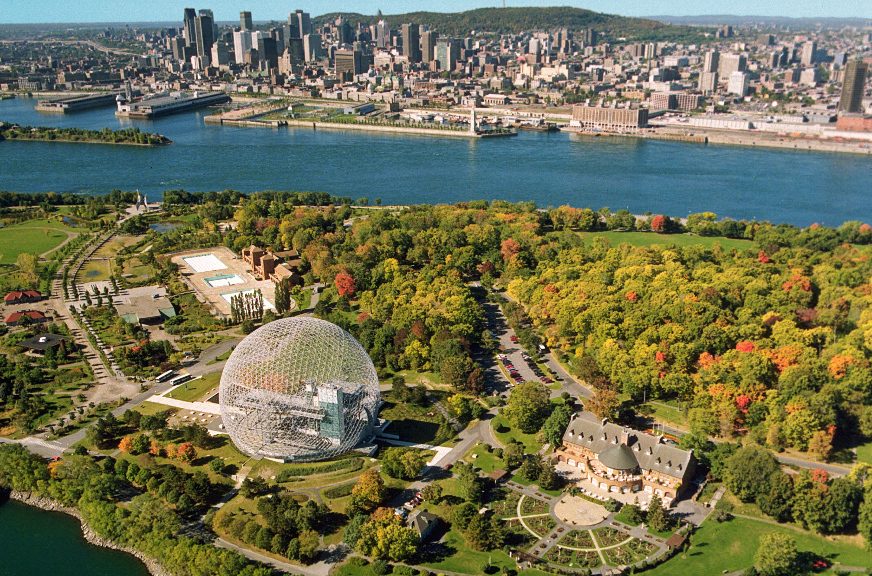 Biosphère de Montreal, actualidad.