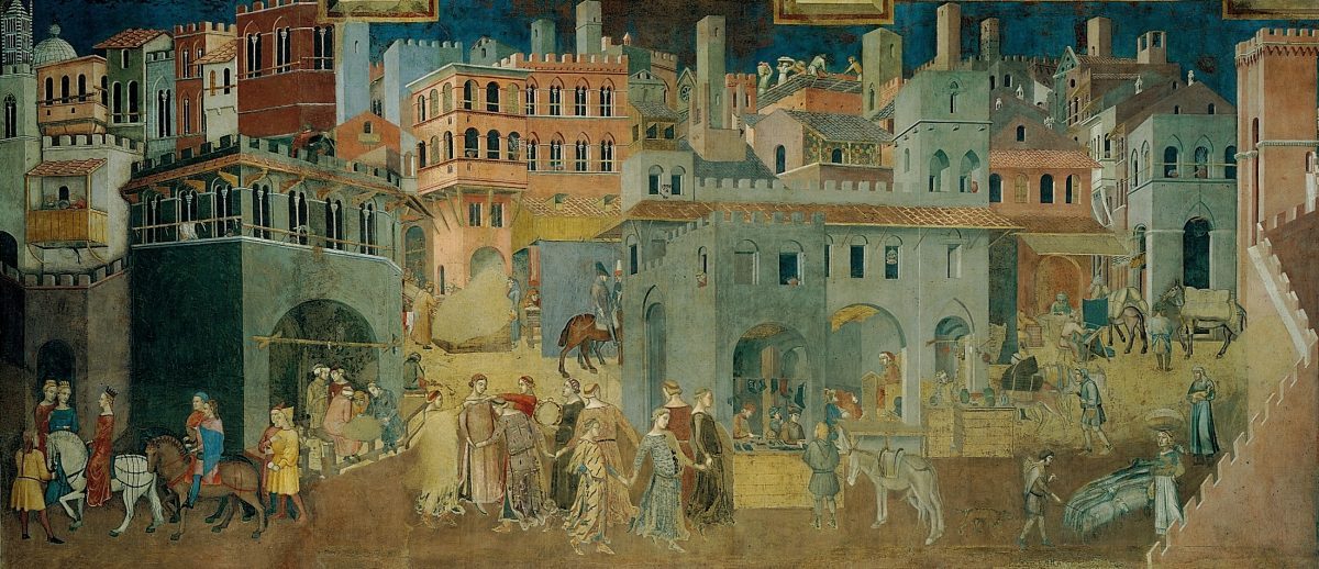 Alegorías al buen gobierno, Ambrosio Lorenzetti.