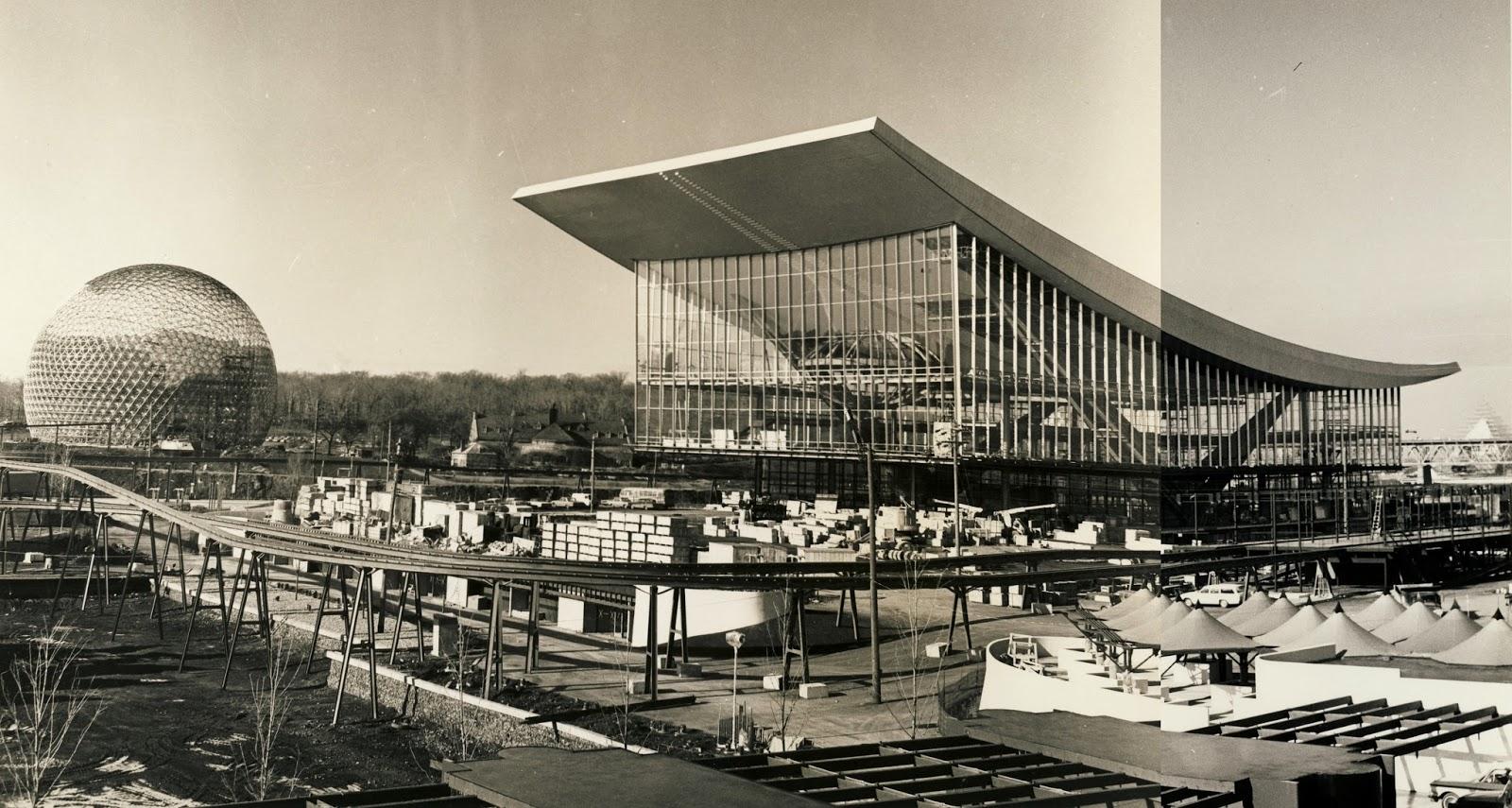 Biosphère de Montreal, 1967.
