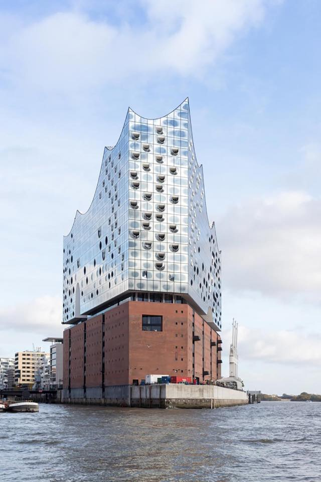 """""""Elbphilharmonie"""" de Hamburgo."""