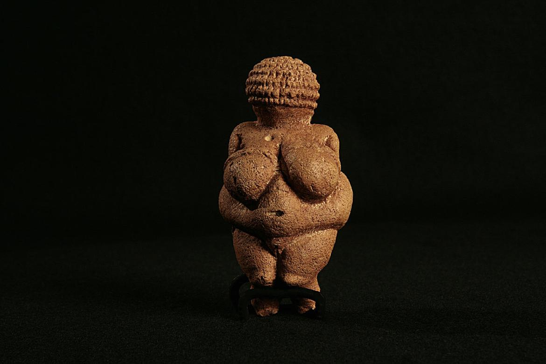 Venus de Willendorf, museo de historia natural de Viena.