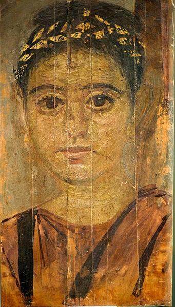 """Los retratos de """"El Fayum""""."""