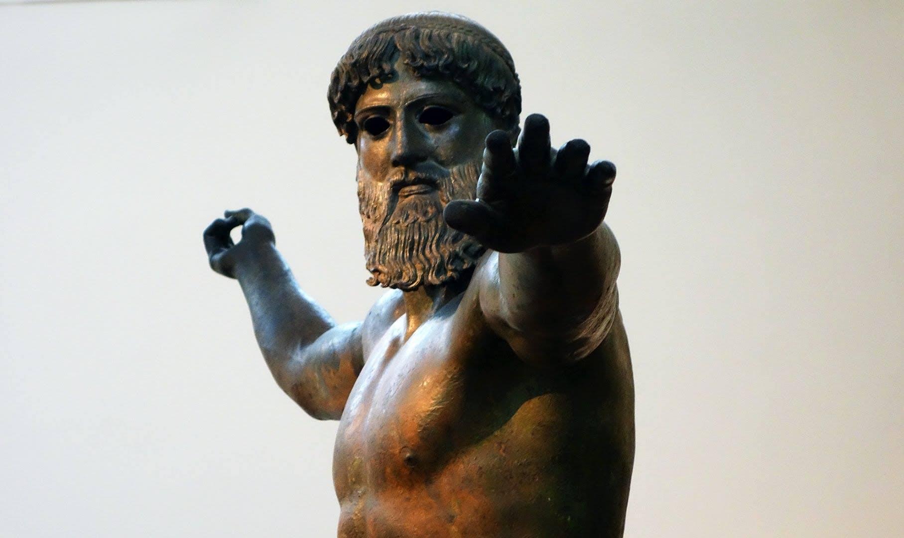 Zeus o Poseidón de Artemision.