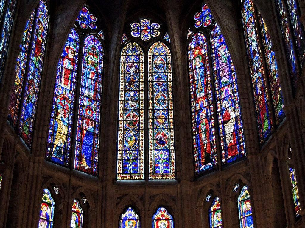 Las vidrieras de la Catedral de León.
