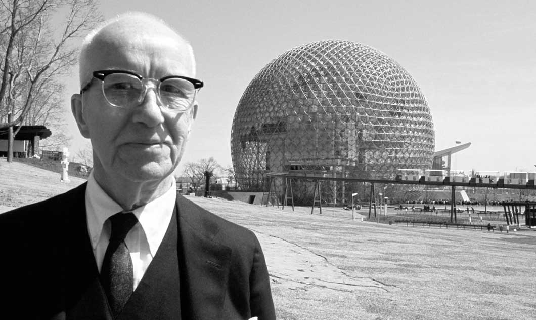 Cúpula Geodésica de Richard Buckminster Fuller en Montreal.