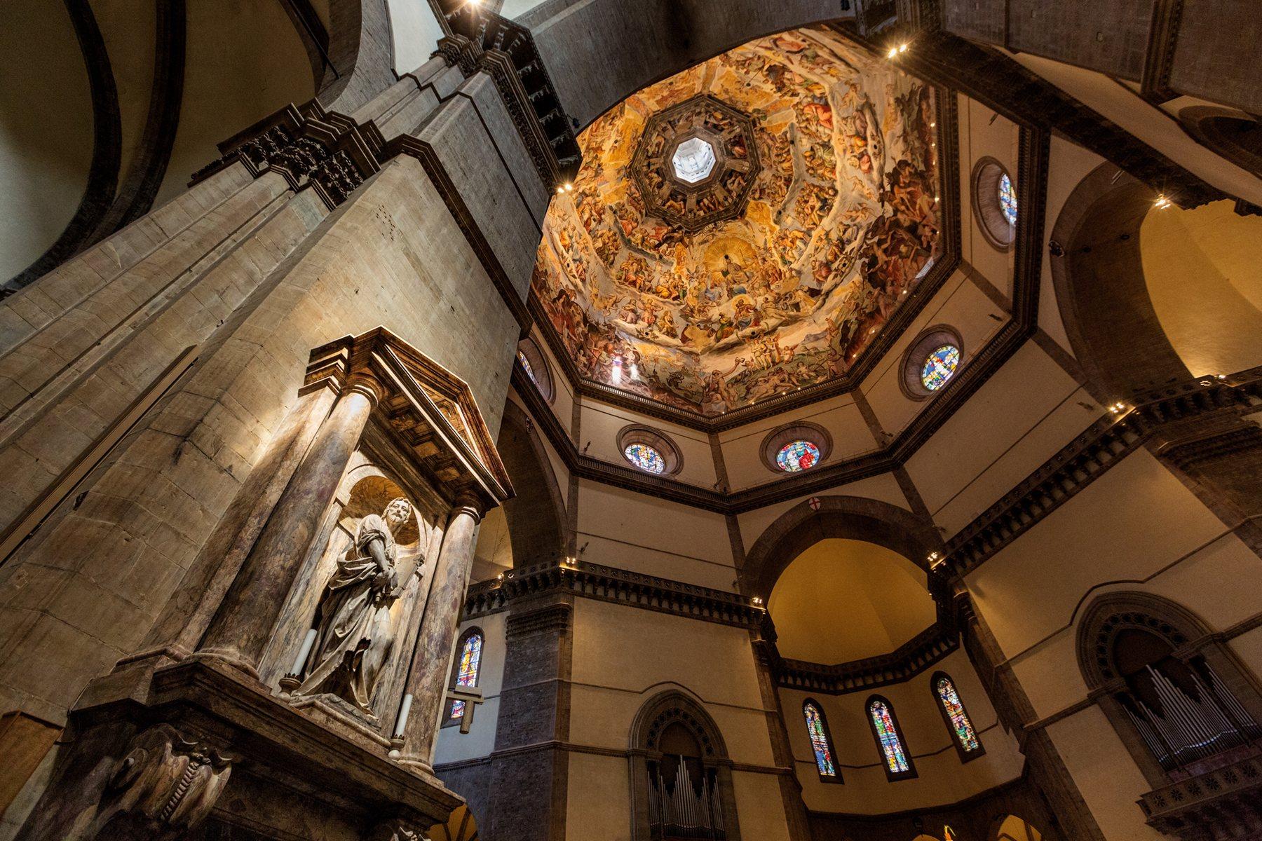 Cúpula de Santa Maria del Fiore, Florencia.