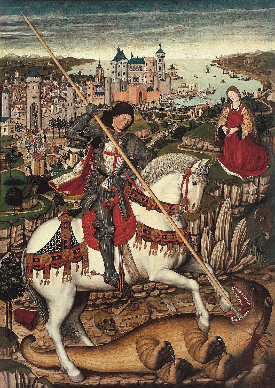 Sant Jordi, Pere Niçard.