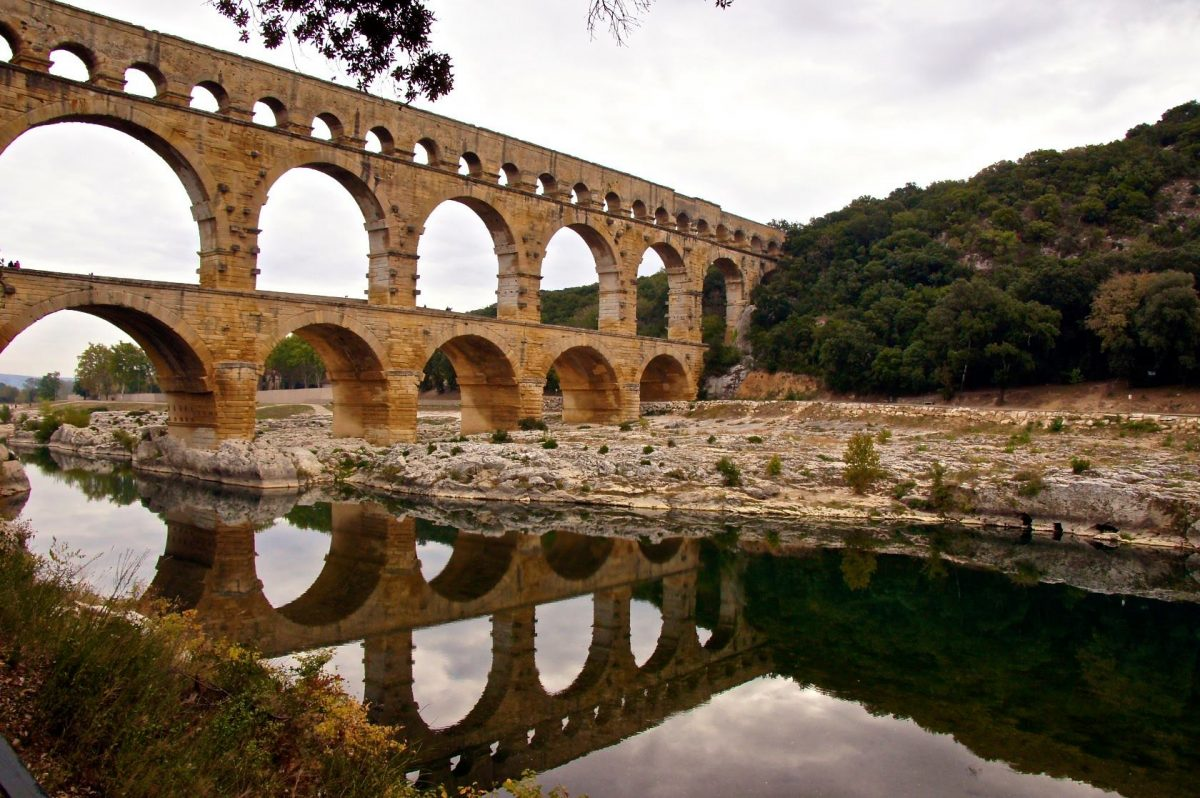 Pond du Gard.