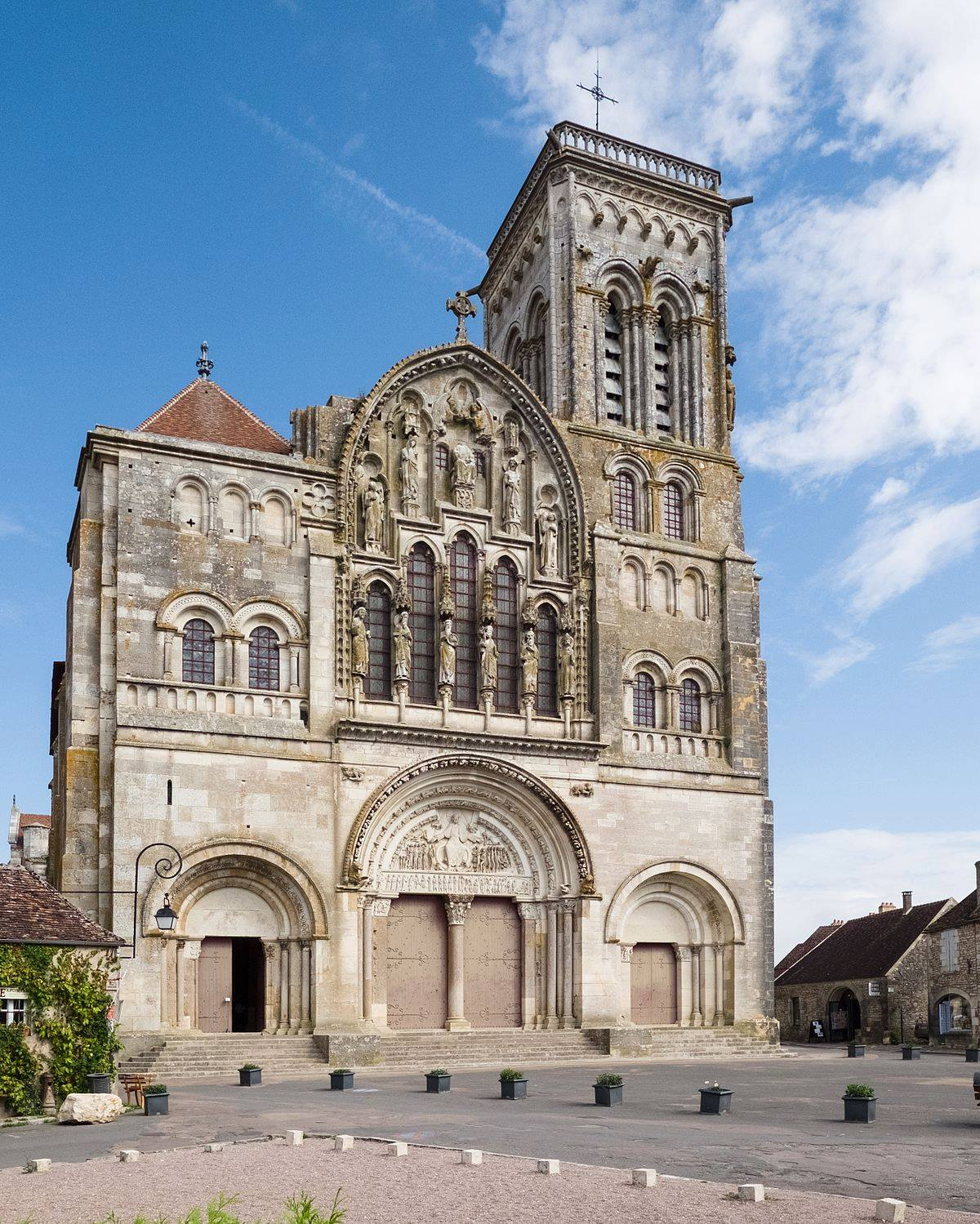 Santa Magdalena de Vézelay.
