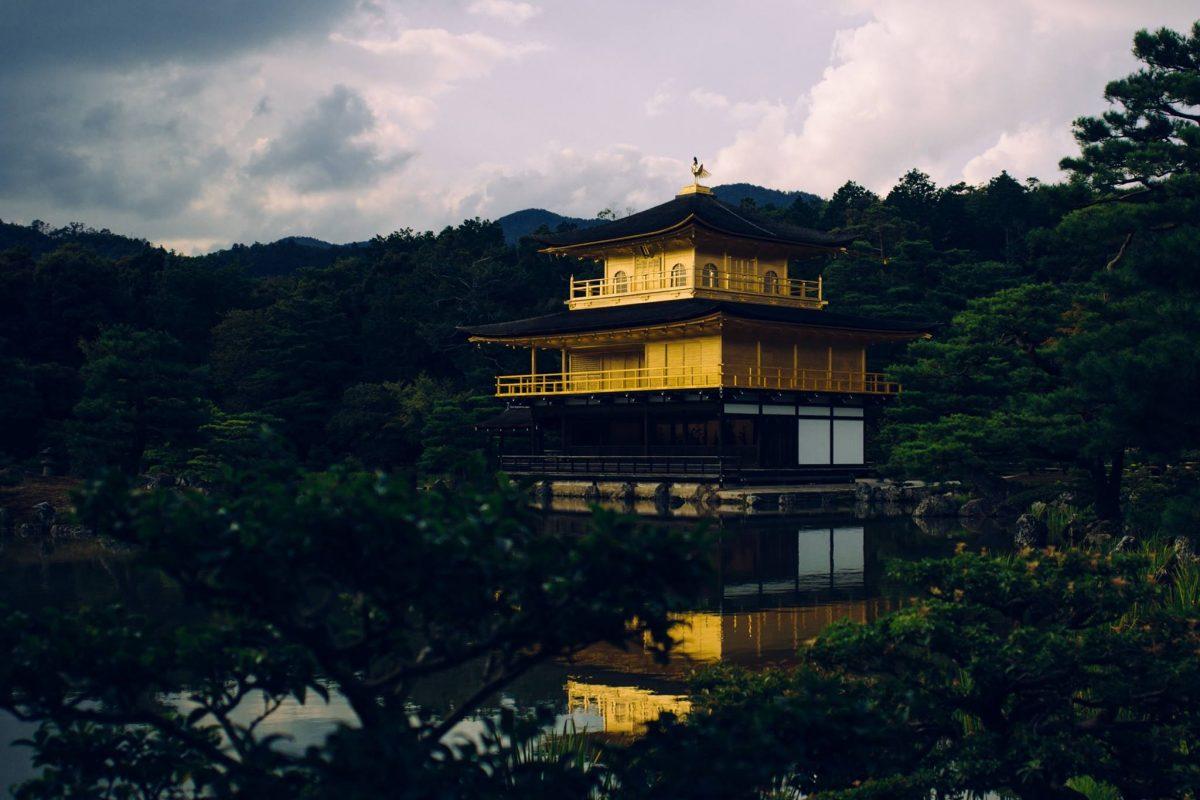 Rokuon-ji, el templo del jardín de los ciervos.