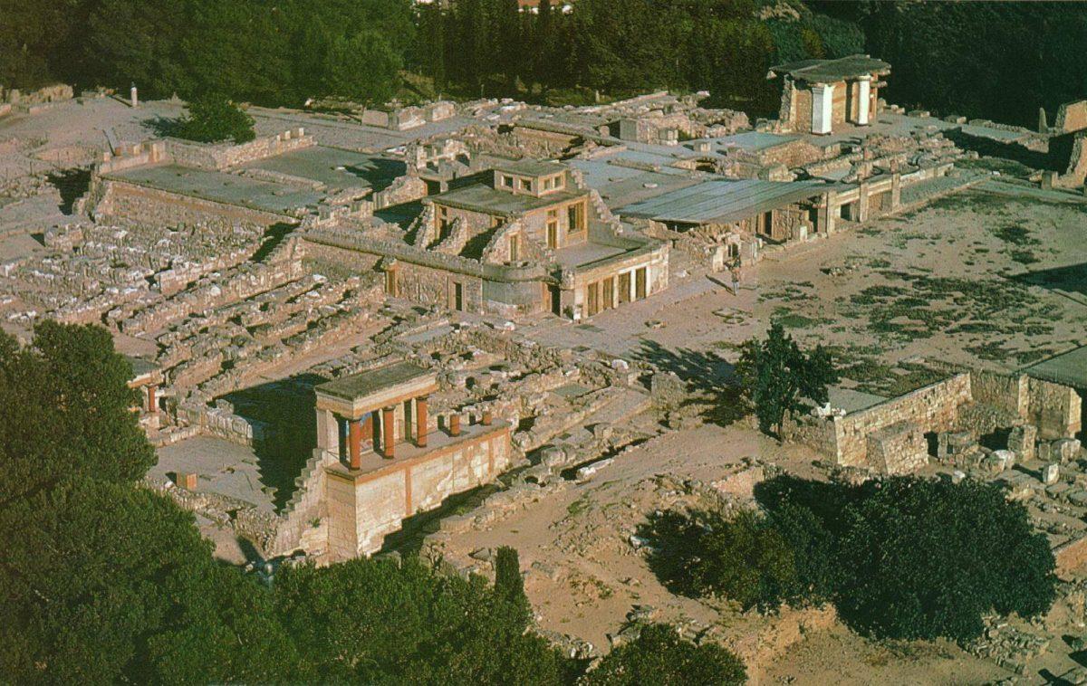 Palacio de Cnosos.