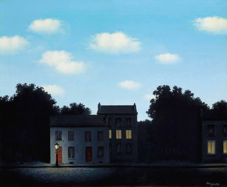 El imperio de las luces, René Magritte.