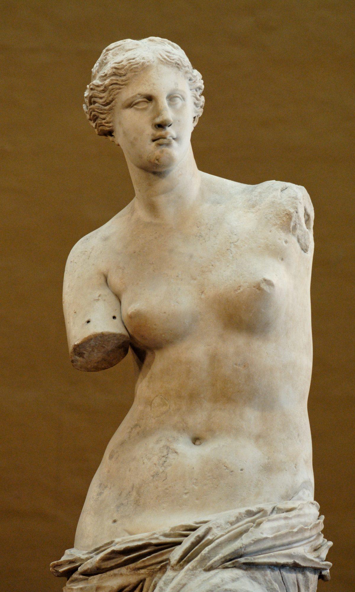 La Venus de Milo.
