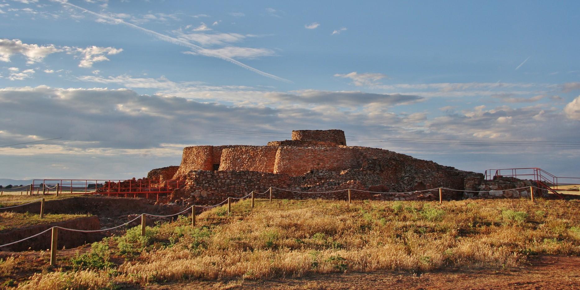 Montilla de Azuer en Castilla la Mancha.