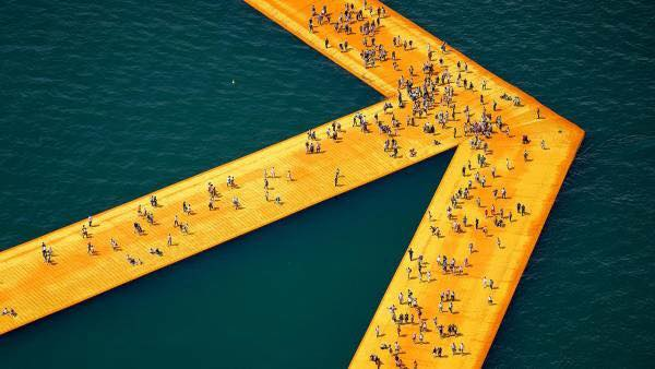 Muelles Flotantes, Christo y Jeanne-Claude.