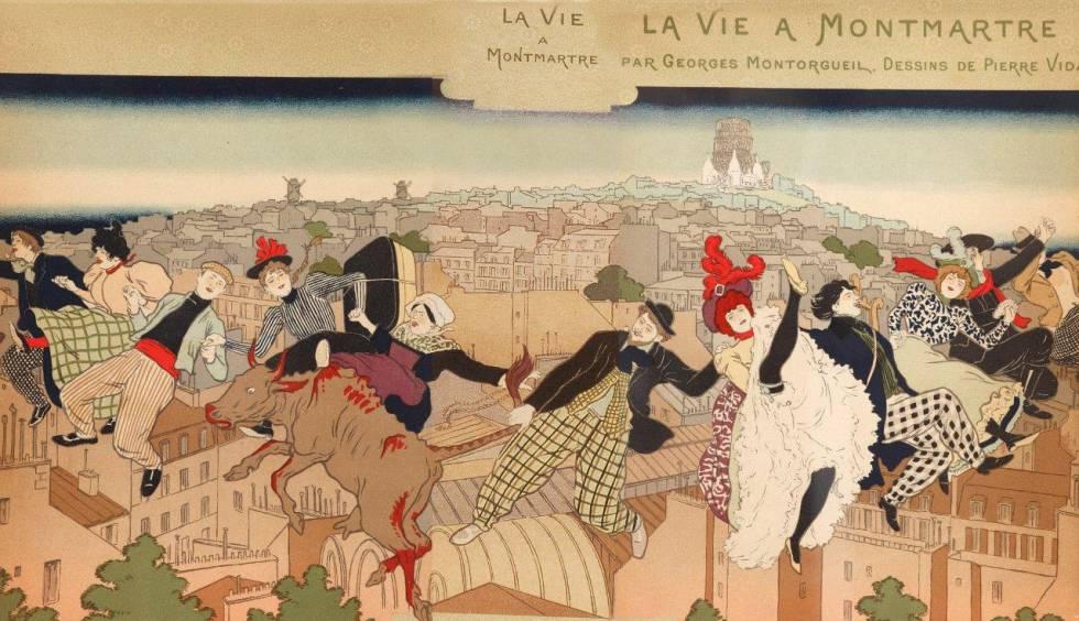 Toulouse-Lautrec y el espíritu de Montmartre.