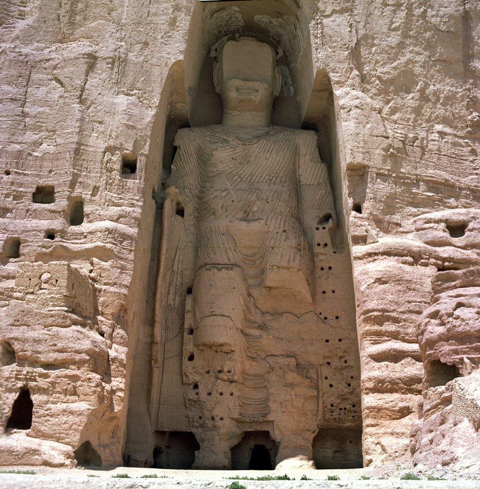 Los Budas de Bāmiyān.