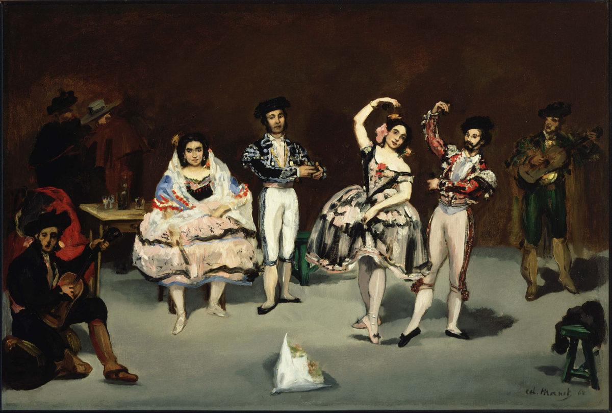 """""""El ballet español"""" 1862"""