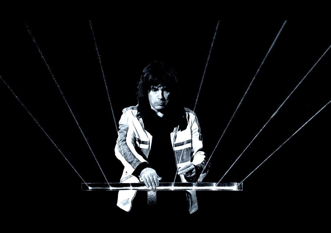 Jean-Michel Jarre, genio de la música electrónica.