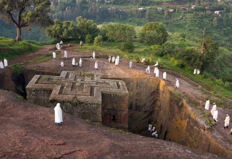 Secretos de África, las iglesias excavadas de Lalibela.