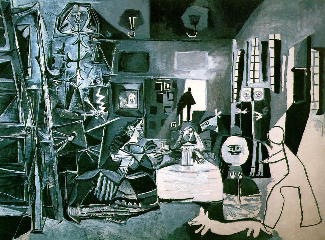 Las Meninas de Picasso.