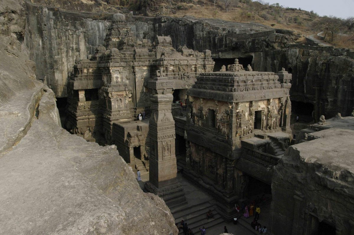 Los templos de Ellora.