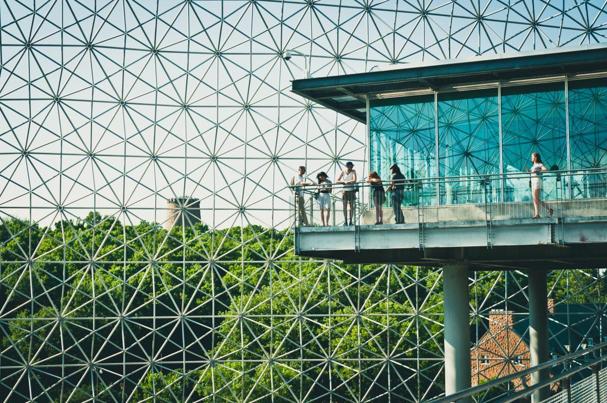 La Biosphère de Montreal de Richard Buckminster Fuller.