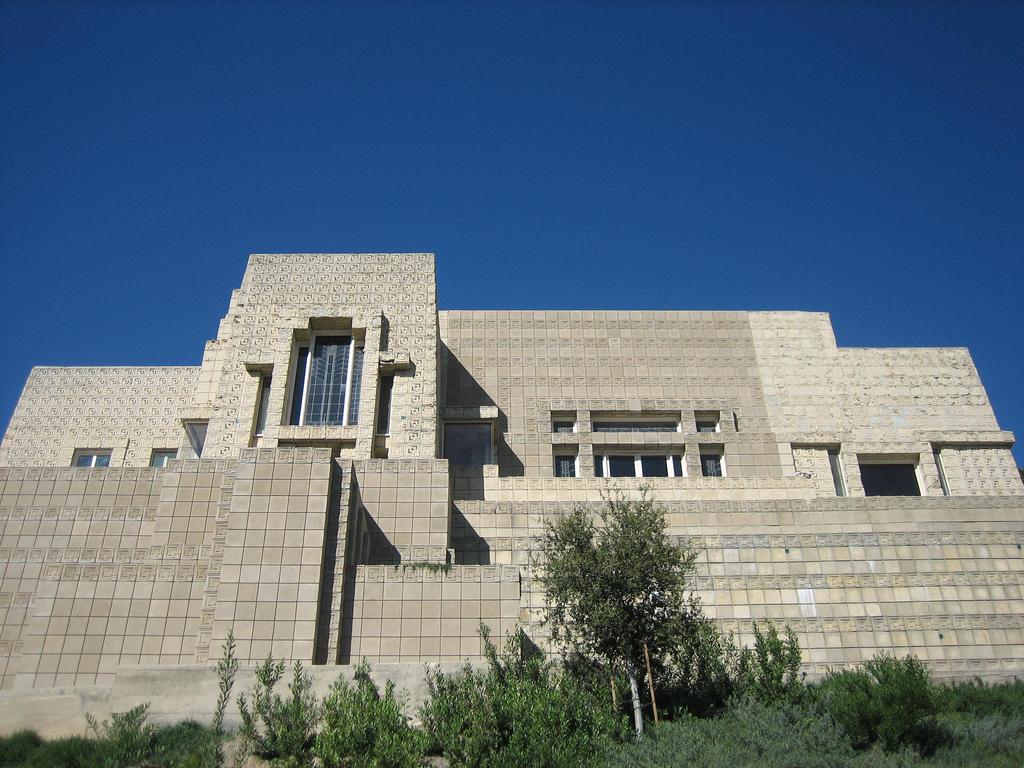 Casa Charles Ennis, Frank Lloyd Wright.