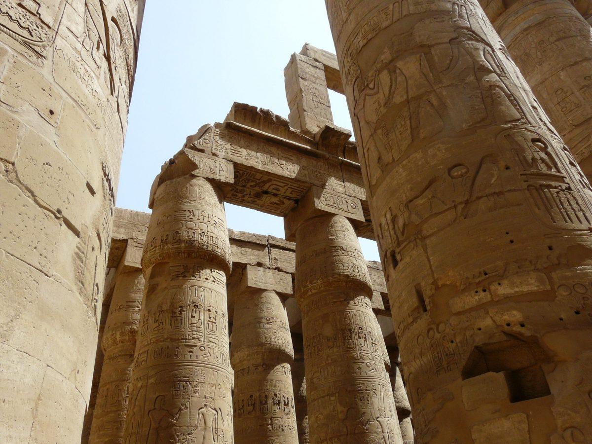 El pilar, la columna y la pilastra.